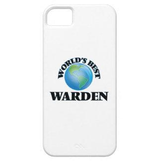 World's Best Warden iPhone 5 Case