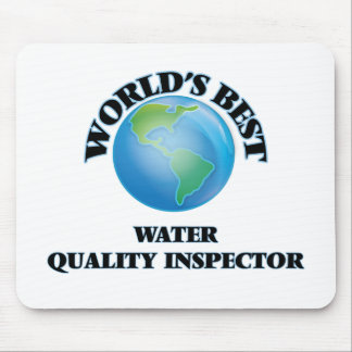 World's Best Water Quality Inspector Mousepads