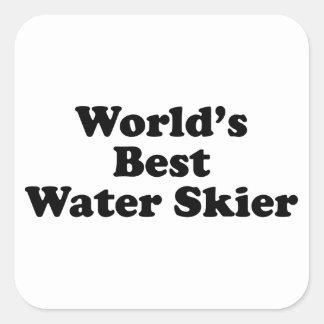 World's Best Water Skier Stickers