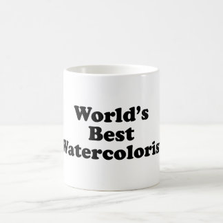 World's Best Watercolorist Coffee Mug