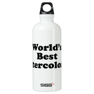 World's Best Watercolorist Water Bottle