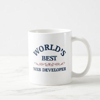 World's best Web Developer Classic White Coffee Mug