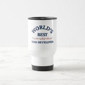 World's best Web Developer Travel Mug