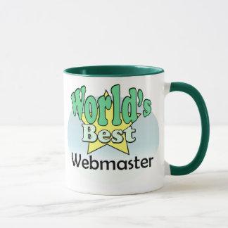 World's best web master mug