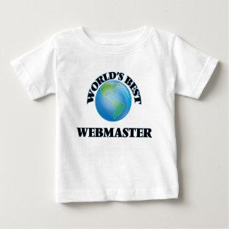 World's Best Webmaster Tee Shirt