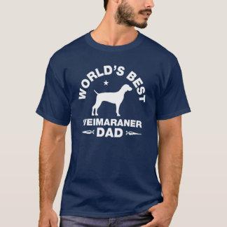 world's best weimaraner dad T-Shirt