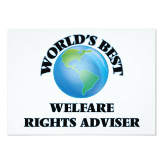 World's Best Welfare Rights Adviser Cards