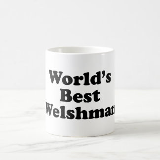 World's Best Welshman Coffee Mug