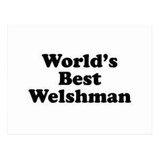 World's Best Welshman Postcard