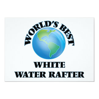 World's Best White Water Rafter Card