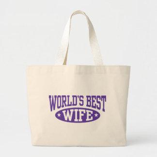 World's Best Wife Bag