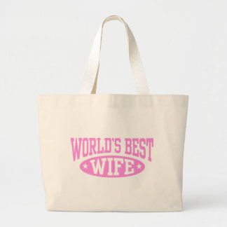 World's Best Wife Bags