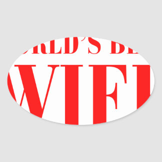 worlds-best-wife-bod-red.png oval sticker