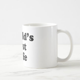 World's Best Wife Classic White Coffee Mug