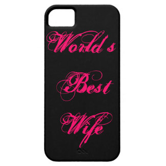World's Best Wife iPhone SE/5/5s Case