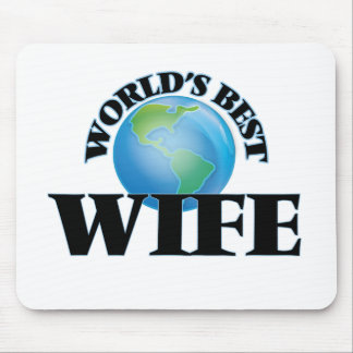 World's Best Wife Mousepads
