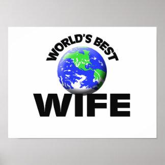 World's Best Wife Print
