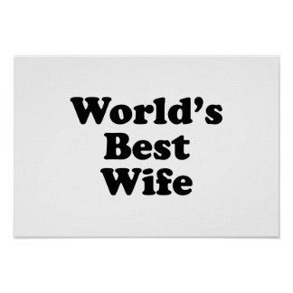 World's Best Wife Poster