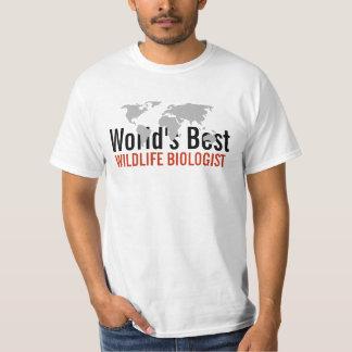World's best Wildlife Biologist T-Shirt