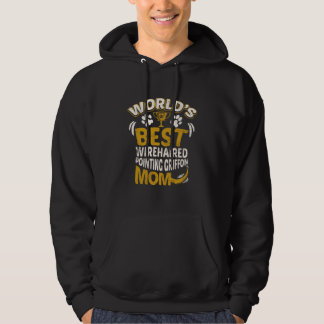 World's Best Wirehaired Pointing Griffon Mom Graph Hoodie