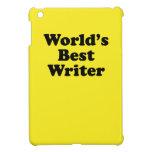 World's Best Writer iPad Mini Covers