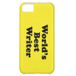 World's Best Writer iPhone 5C Cover