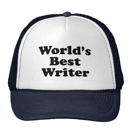 World's Best Writer Trucker Hat