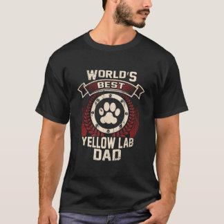 World's Best Yellow Lab Dad T-Shirt