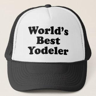 World's Best Yodeler Trucker Hat