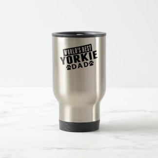 World's Best Yorkie Dad Travel Mug