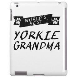 Case-Mate Barely There iPad Case with Yorkshire Terrier Phone Cases design