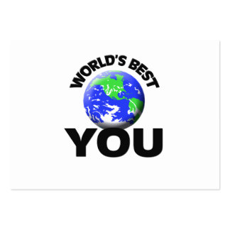World's Best You Large Business Cards (Pack Of 100)