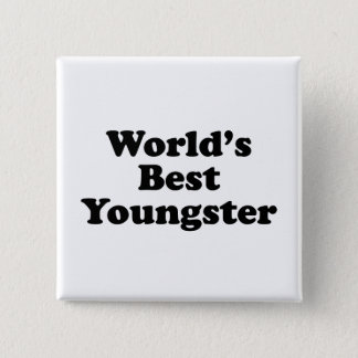 World's Best Youngster Button