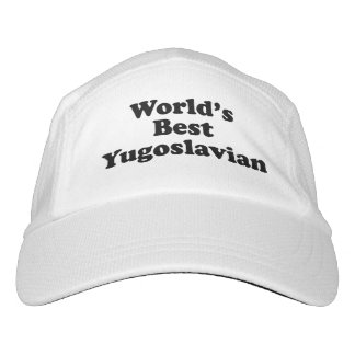 World's Best Yugoslavian Headsweats Hat
