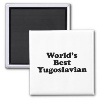 World's Best Yugoslavian Magnet