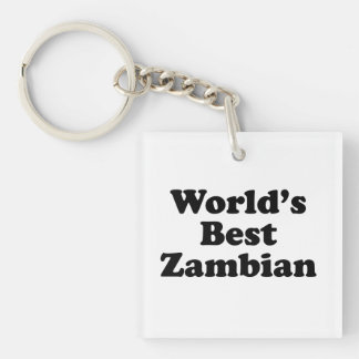 World's Best Zambian Keychain