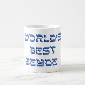 Worlds Best Zeyde Coffee Mugs