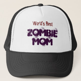 worlds-best-zombie-mom-hat trucker hat