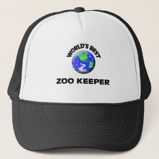 World's Best Zoo Keeper Trucker Hat