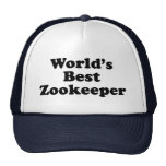 World's Best Zookeeper Hats