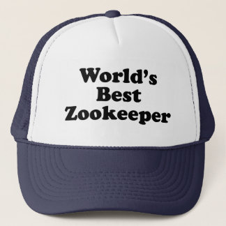 World's Best Zookeeper Trucker Hat