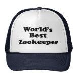 World's Best Zookeeper Trucker Hat
