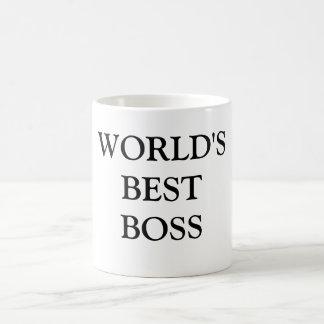 WORLD'S BESTBOSS COFFEE MUG