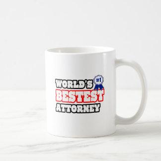 World's Bestest Attorney Coffee Mug