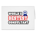 World's Bestest Consultant Card