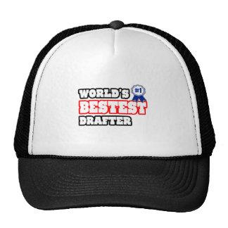 World's Bestest Drafter Trucker Hat