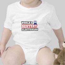 World's Bestest Electrician T-shirt