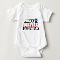 World's Bestest Electrician T Shirts