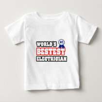 World's Bestest Electrician Tee Shirts