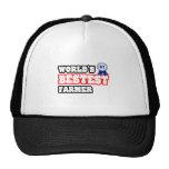 World's Bestest Farmer Mesh Hat